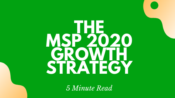 The MSP 2020 Growth Strategy